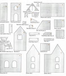 two story gingerbread house template gingerbread house pattern a gingerbread house