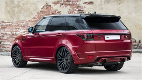 kahn range rover sport kahn design gallery of the land rover range rover sport