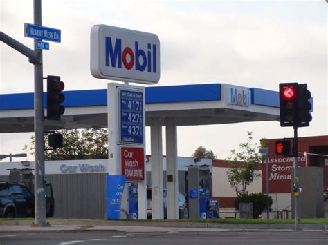 Gas L In San Diego by Panoramio Photo Of Mobil Gas Station San Diego 05 2011