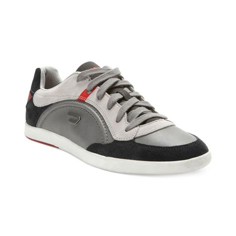 diesel sneakers diesel eastcop starch sneakers in gray for anthracite