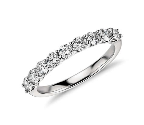 Wedding Bands Without Diamonds by Classic Ring In Platinum 3 4 Ct Tw