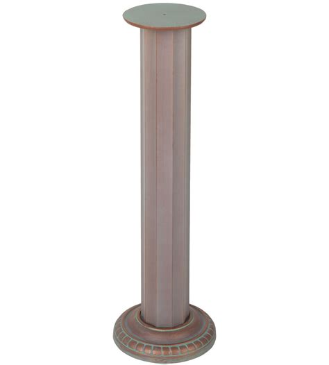 Outdoor Pedestal Ls outdoor pedestal in garden accents