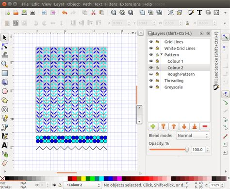 inkscape tutorial pattern using inkscape to draft tabletweaving patterns