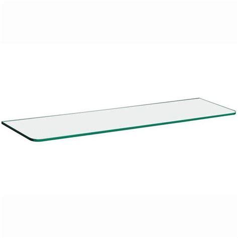 Large Glass Shelf by Dolle 32 In X 5 16 In X 8 In Standard Line Shelf In