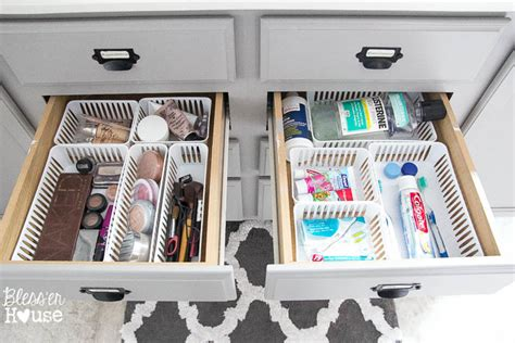 organization solutions dollar store bathroom drawer organization the summery