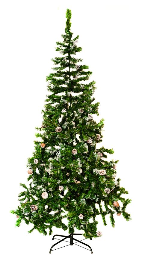 5ft 7ft large artificial christmas tree snow cones
