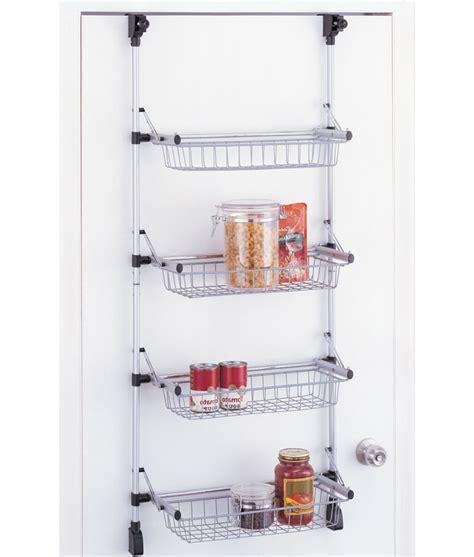 Door Storage Rack by The Door Pantry Organizer In Wall And Door Storage Racks