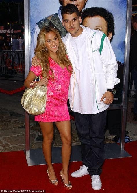 rob disses adrienne bailon he likes chris adrienne bailon responds to rumours she s back with ex rob