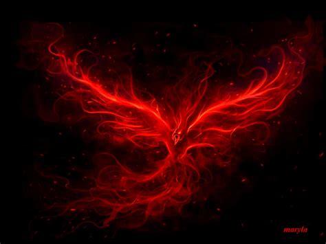 red fire phoenix gif red pinterest phoenix