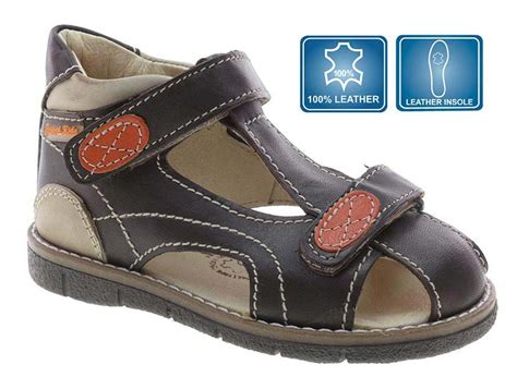 toddler boy sandals size 9 brown leather closed toe toddler boys sandals size 9 5