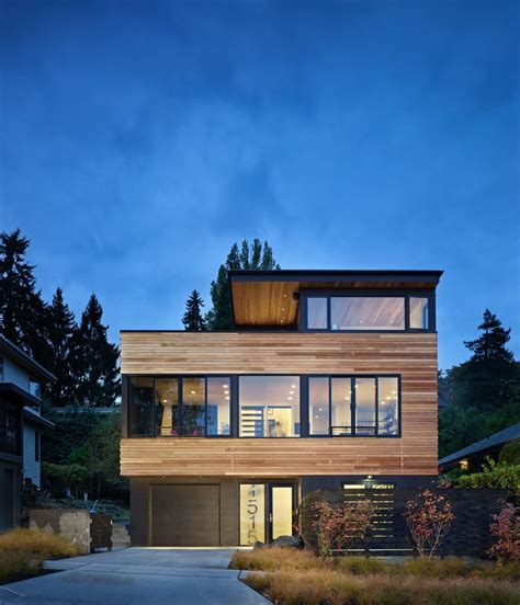 fresh home com modern refuge for an active couple cycle house in seattle