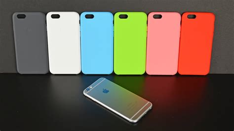 apple iphone 6 silicone all colors review