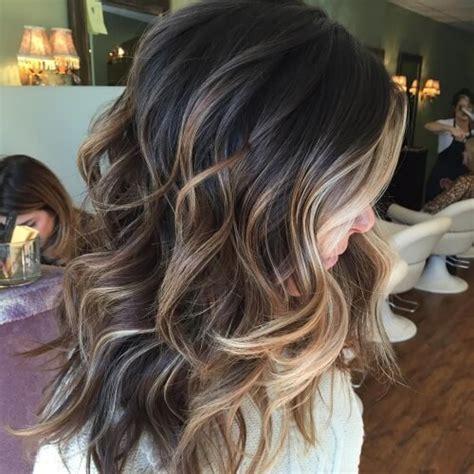 partial silver highlights 50 honey brown hair ideas hair motive hair motive