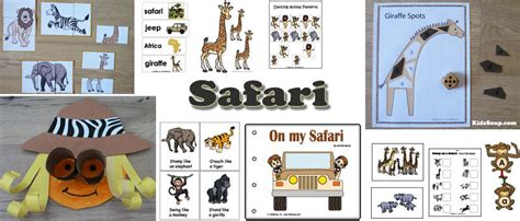 safari jeep craft safari preschool activities and crafts kidssoup
