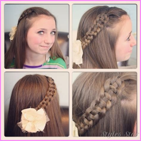 easy hairstyles for medium hair for school step by step easy hairstyles for hair school step by