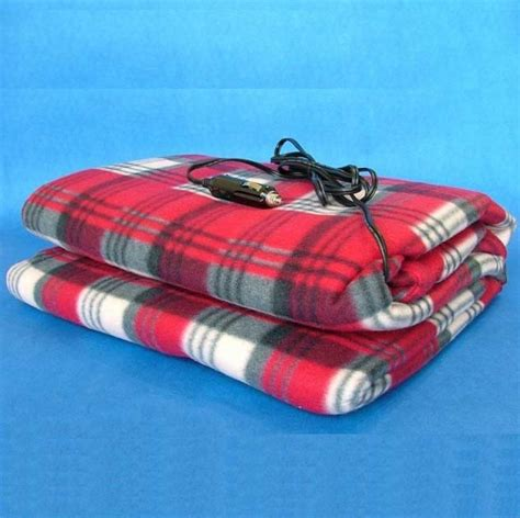 12v travel blanket