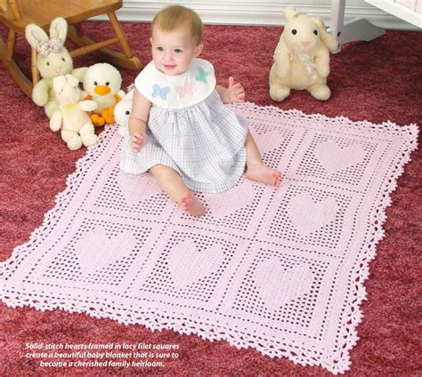 heart pattern baby blanket free crochet baby blankets with hearts archives crochet