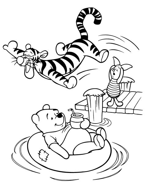 sleeping pattern in spanish winnie the pooh coloring page tv series coloring page