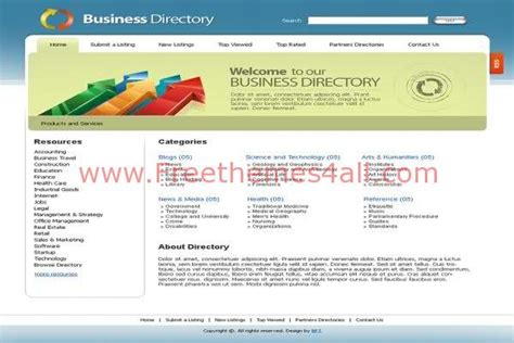 business listing website template business listing website template 28 images 21