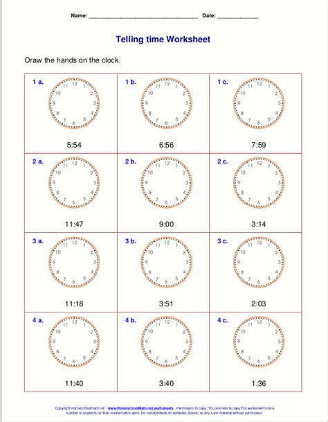 printable math time worksheets for 3rd grade grade 1 time worksheet telling time worksheets for first