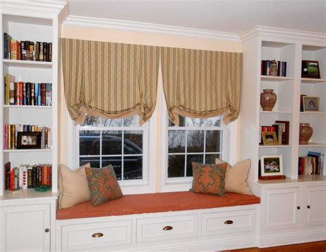 how to build a window seat with bookshelves window seat bookshelves american hwy