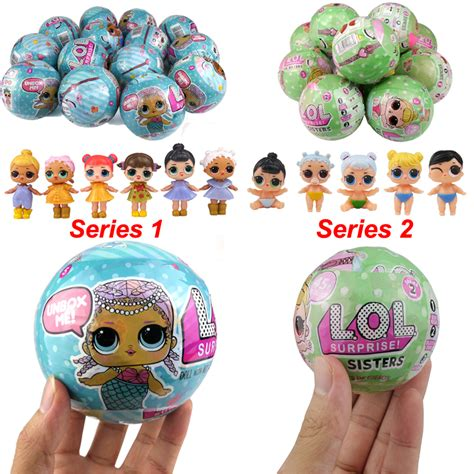 Egg Lol Baby Telur Lol Satuan 1pcs 1pcs lol doll unpacking egg muscao ru
