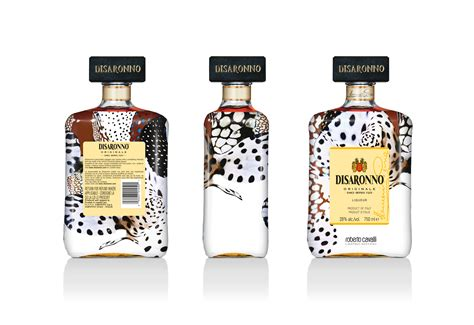disaronno wears cavalli limited edition bottle
