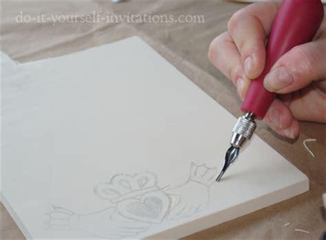 diy wedding invitation kits ireland diy wedding invitations make your own and save