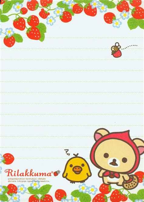 New Milk Memo Note Memo rilakkuma memo pad by san x japan strawberry memo pads stationery kawaii shop modes4u