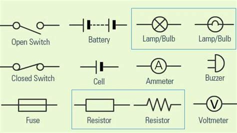 simple electrical symbols