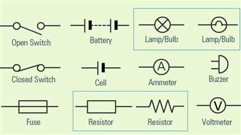 simple electrical schematic symbols efcaviation