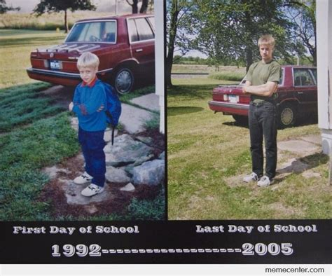 First Day Of School Funny Memes - first day of school vs last day of school by ben meme center