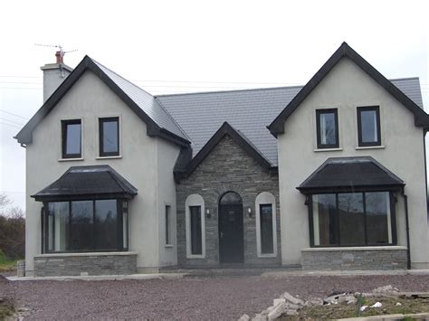 open plan house designs ireland almost finished new storey and a half residence in kerry ireland house ideas