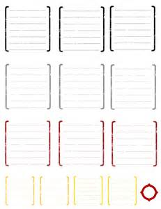 scrapbook journaling templates 6 best images of scrapbook tags templates free printables
