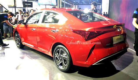 upcoming hyundai verna 2020 2020 hyundai verna facelift likely to debut at upcoming