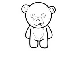 Teddy Outline Images by Cool Teddy Drawings Clipart Best