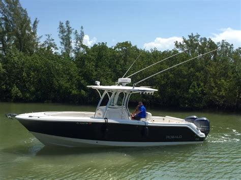 used center console boats for sale used power boats center console robalo boats for sale