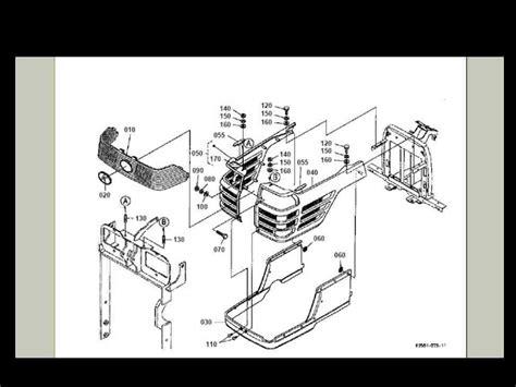 kubota bx2200 parts diagram kubota bx 2200 bx2200 tractor parts manual set 260pgs