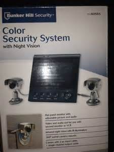 bunker hill security color security system with vision bunker hill color security system with two cameras