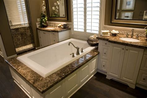vanities for bathrooms marble tile bathroom countertops 24 master bathrooms with soaking tubs in the center