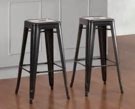Home Decor Tj Maxx tabouret 30 inch charcoal grey metal bar stools set of 2