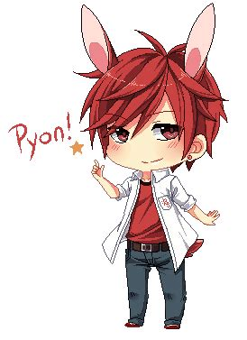 cute anime chibi girl with red hair mikoshiba mikoto chibi