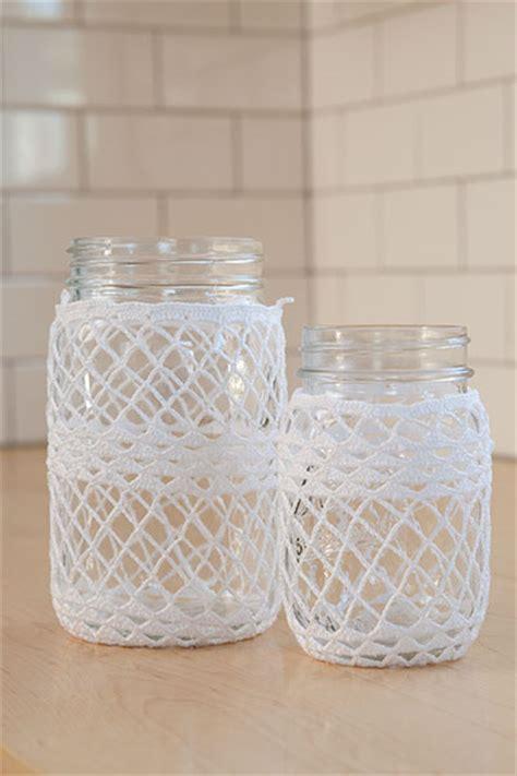 crochet pattern jar cozy crocheted ball jar cozies knitting patterns and crochet