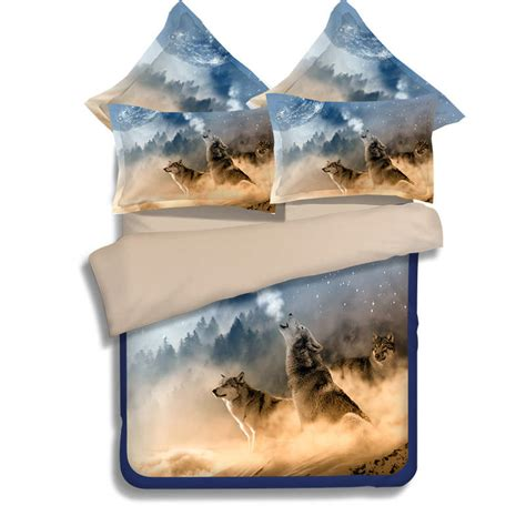 3d printed comforters wolf animal 3d printed comforter bedding sets twin full