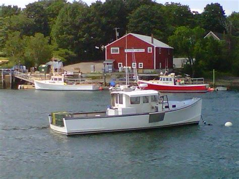 lobster boat in the harbor discover portsmouth nh - Lobster Boat Manchester Nh