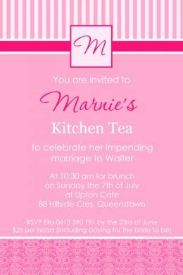kitchen tea invitation ideas kitchen tea invitation ideas the wedding warehouse