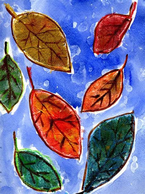 leaf craft projects fall leaf projects for
