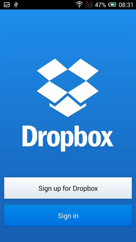 dropbox app alcatel onetouch idol alpha apps mobiles please blog