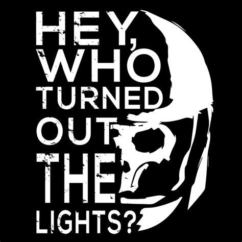 Who Turned Out The Lights by More New Tees On Zebra Tees 28th April Minded