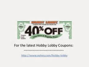 Hobby lobby coupon hobby lobby coupon december 2014 40 hobby lobby